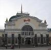 Железнодорожные вокзалы в Крыловской