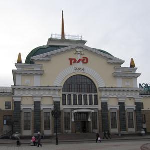 Железнодорожные вокзалы Крыловской